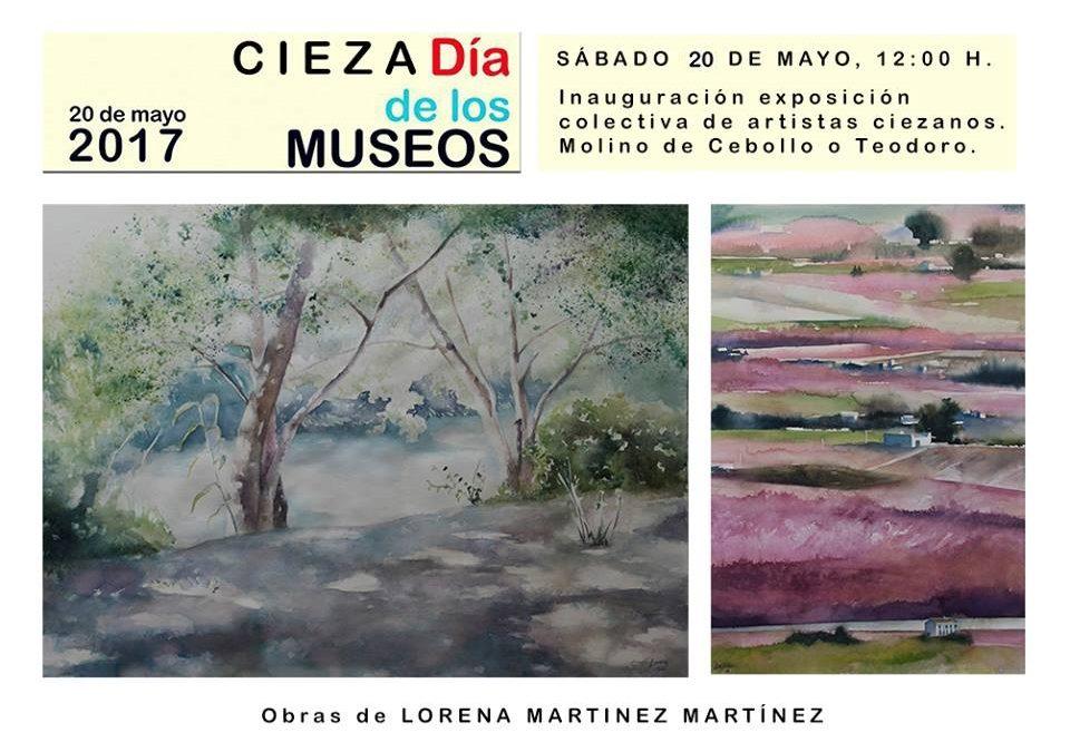 Exposición 'Artistas Ciezanos' en el Molino Teodoro