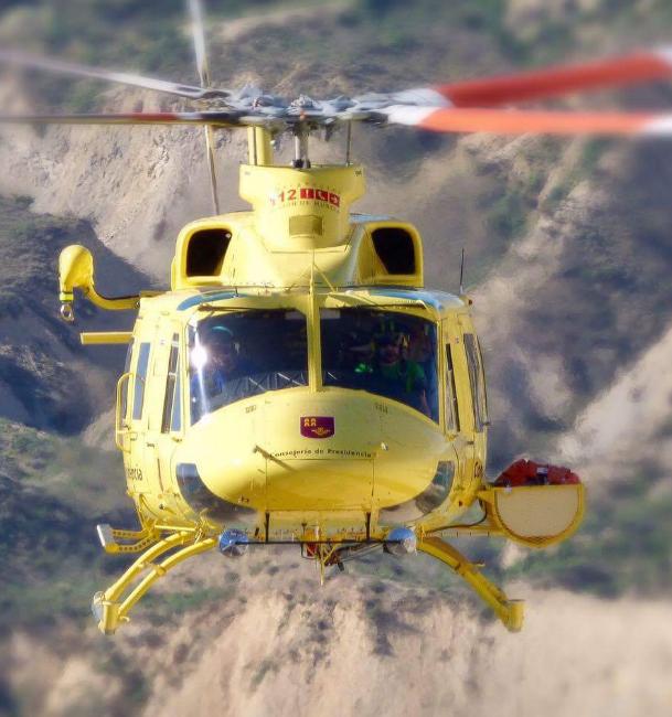 Efectivos del Plan Infomur participan en un simulacro de incendio forestal en la Sierra del Picarcho de Cieza