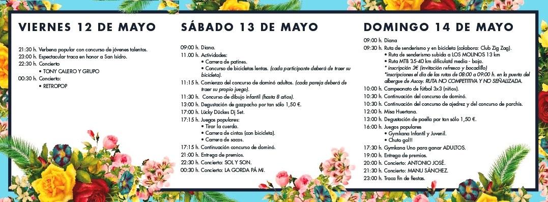 Fiestas de Ascoy 'San Isidro 2017'
