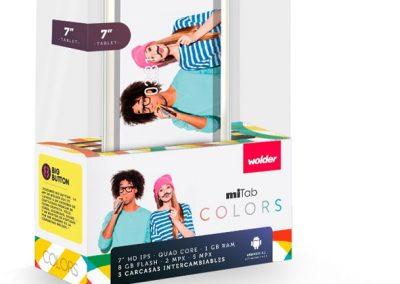 Foto de la Tablet Wolder-miTab-Colors a la venta en Móvil Fix Cieza.