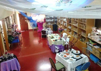 Foto de otro enfoque de la exposición de HostelCieza en Cieza.