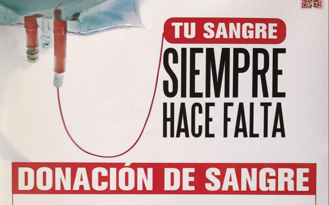 Con Mayo llegan nuevas jornadas de donación de sangre a Cieza