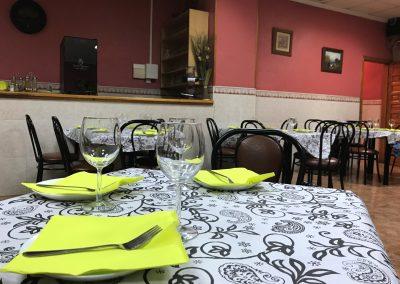 Foto del Salón Comedor del Restaurante Bar La Morena, Cieza.