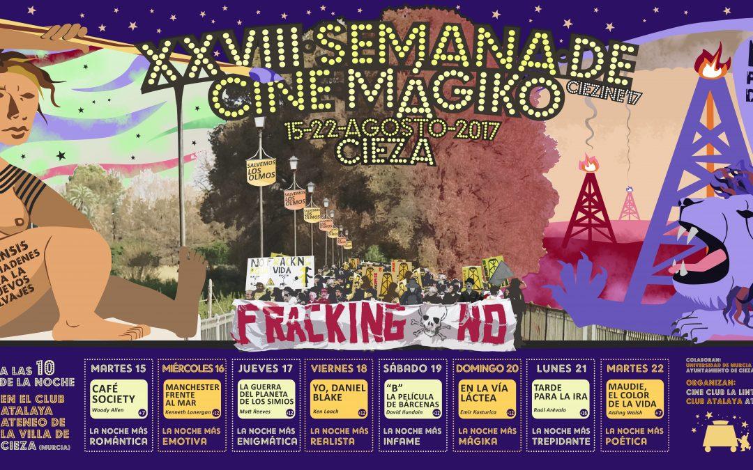 Programación de la XXVIII Semana de Cine Mágiko del Cine Club La Linterna Mágika