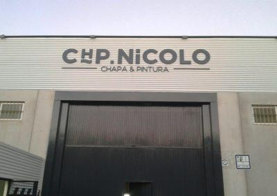 Foto del Cerramiento de nave industrial en Cieza.