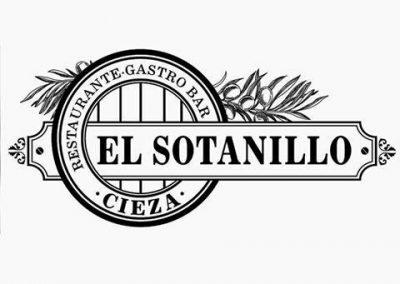 Imagen coporativa y Logotio Gastrobar El Sotanillo en Cieza.