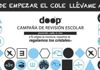 Foto de un Flyer promocional de Fernando Óptico en Cieza.