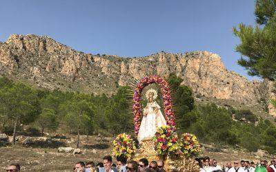 Nuestra Patrona, la Virgen del Buen Suceso regresa a Cieza