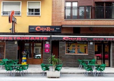 Foto de la fachada del Restaurante Bar Costa Rica en Cieza.