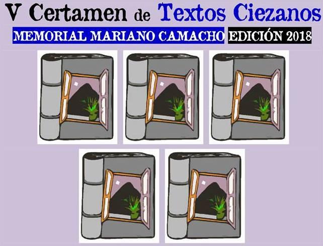 'V Certamen de Textos Ciezanos / Memorial Mariano Camacho 2018'