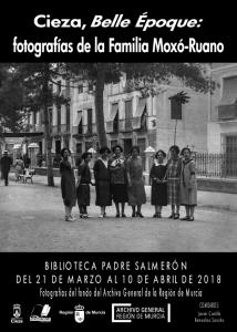 """Exposición """"Cieza, Belle Époque: fotografías de la Familia Moxó-Ruano"""" @ Biblioteca Padre Salmerón, Cieza."""
