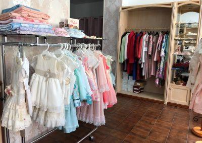 Foto de parte de la tienda la Tres Belle en Cieza.
