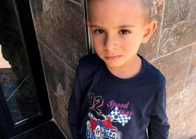 Foto de pelo de chico en Peluquería Ana Belén Estilistas en Cieza.