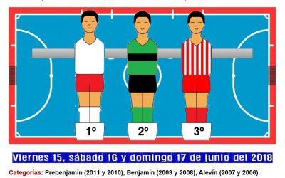 VII Torneo de Fútbol Sala Base en la Sala de Barrio Álex Yepes de Cieza