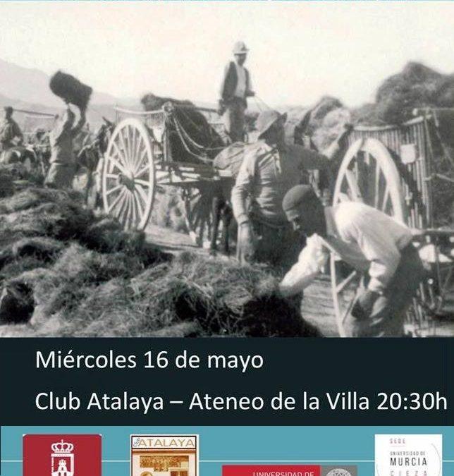 """Proyección este miércoles en el Club Atalaya de """"Cieza, Atochas y Espartizales"""""""
