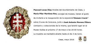 Exposición 'Donum Crucis' en el Museo de Siyâsa de Cieza @ Museo de Siyâsa.