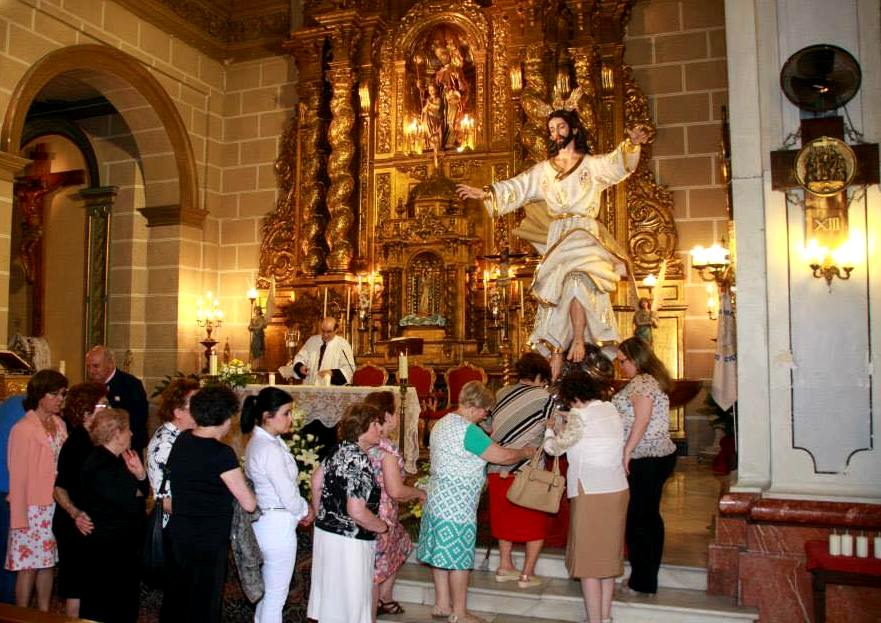 Misa y Tradicional Besapié a la imagen de la Ascensión del Señor en San Joaquín
