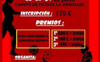 VII 24 horas de Fútbol 7 organizadas por Juventudes Socialistas de Cieza