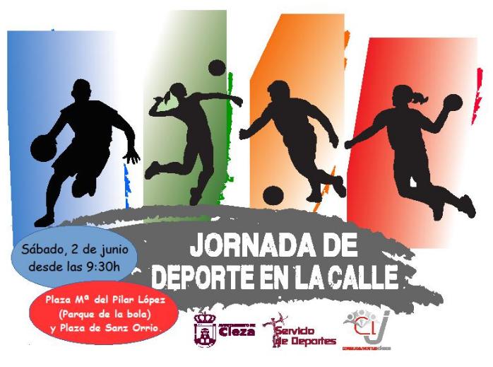 'Jornada de Deporte en la Calle' este sábado en Cieza