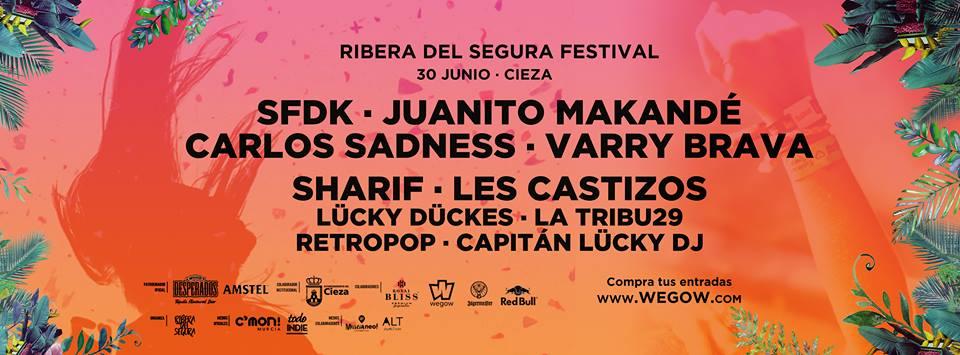 Más de 15 horas de música en el I Ribera del Segura Festival 2018