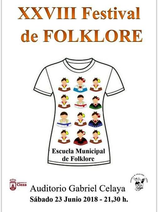 XXVIII Festival de la Escuela Municipal de Folklore de Cieza