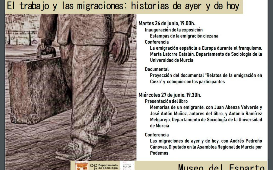 """Comienzan las Jornadas: """"El Trabajo y las migraciones: Historias de ayer y hoy"""""""