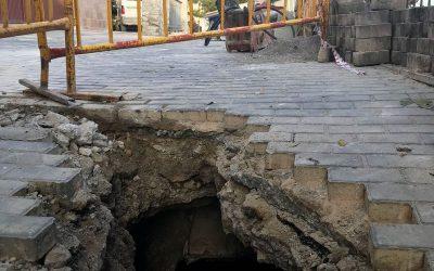 La Concejalía de Obras e Infraestructuras informa sobre la Cuesta Cosme