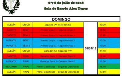 IX Campeonato Futsal de la Hermandad del Descendimiento de Cristo y Beso de Judas