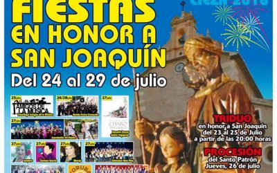 La Concejalía de Participación Ciudadana anima a acudir a las fiestas del barrio de San Joaquín