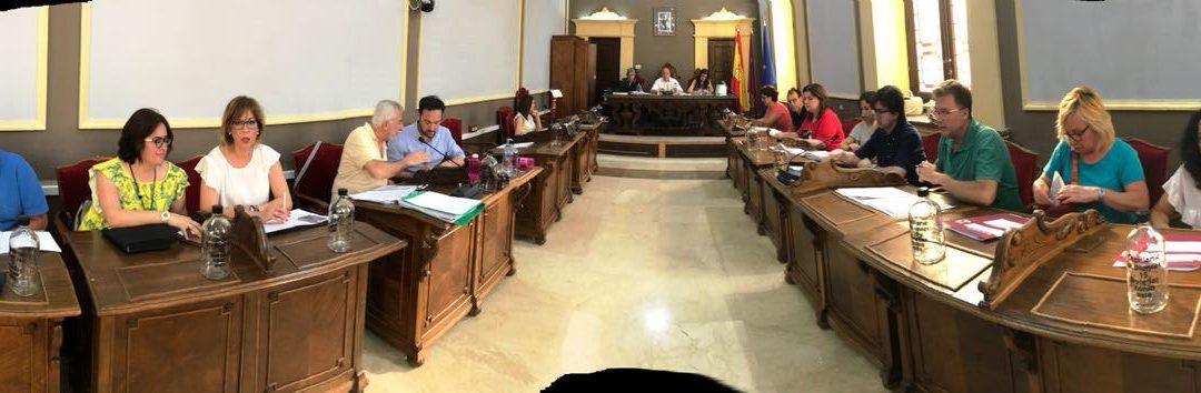 El último pleno albergó la aprobación de proyectos de gran envergadura para Cieza
