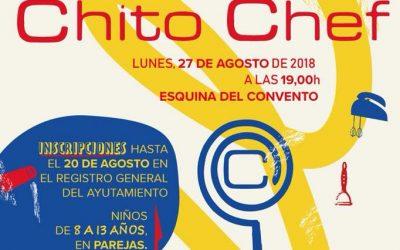 La IV edición del Concurso Chito Chef abre su plazo de inscripción