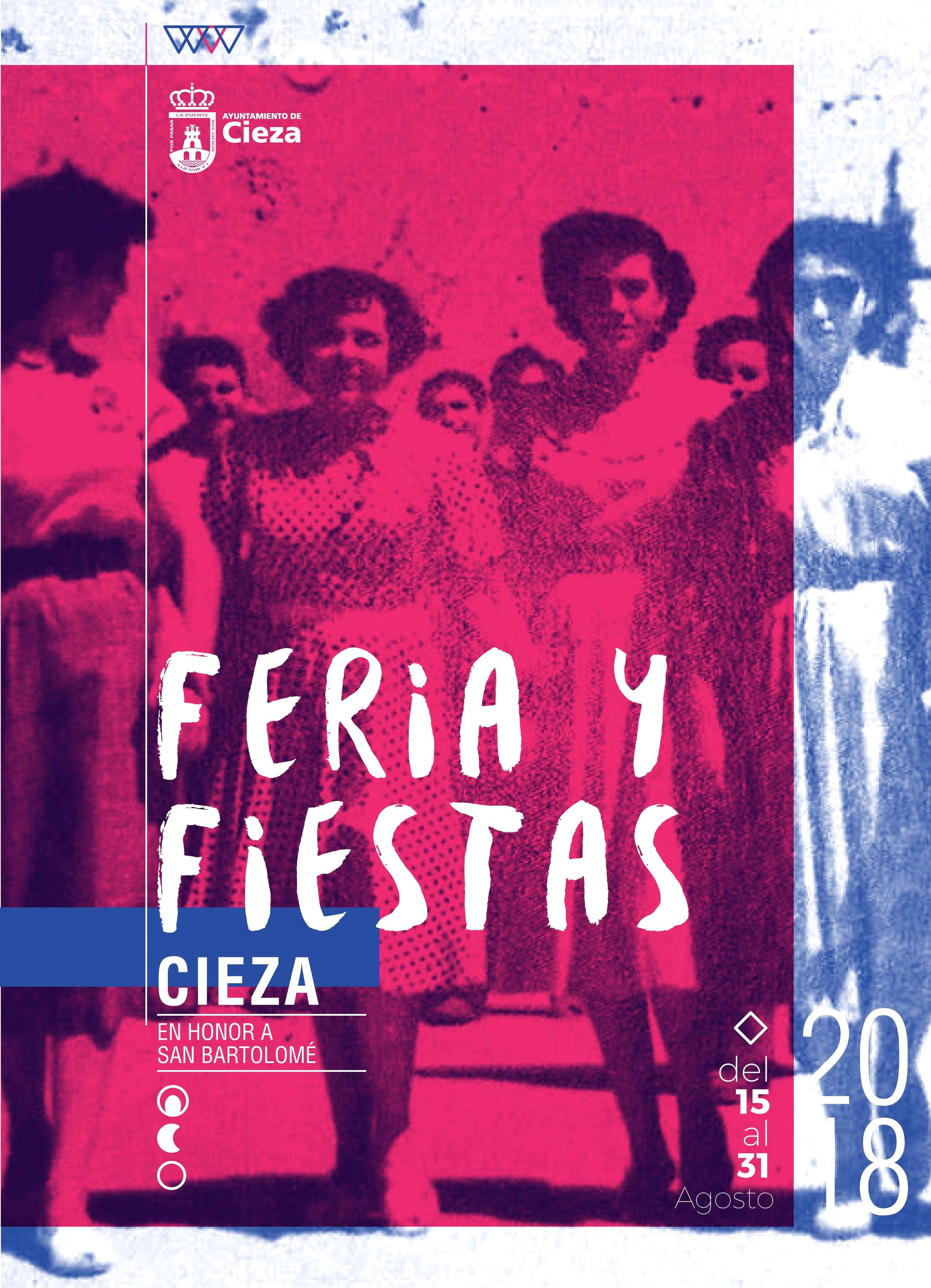 Imagen de portada del Programa Feria y Fiestas 2018 de Cieza.