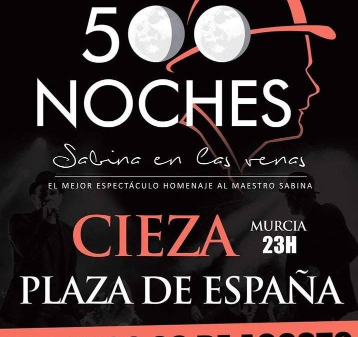 Sidecars suspende su concierto previsto para este domingo en Cieza