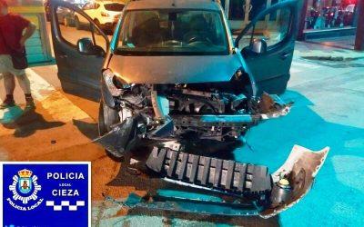 Accidente con heridos leves en el Camino de Murcia