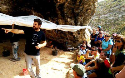 El Museo Arqueológico de Cartagena desciende al Cañón de Almadenes para mostrar su arte rupestre
