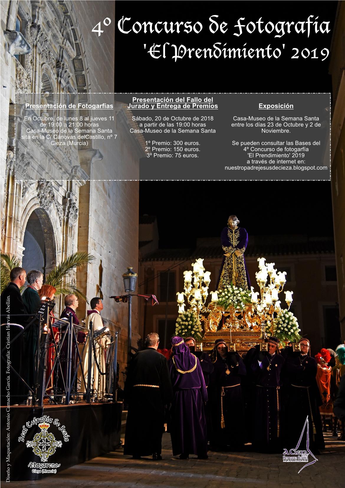 Foto del Cartel Concurso Nazareno de Cieza 2019.
