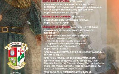 """Celebración y actos del 'Medio Año Festero' 2018 de las Fiestas del Escudo """"La Invasión"""""""