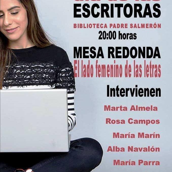 Mesa redonda por el 'Día de las Escritoras', con escritoras ciezanas