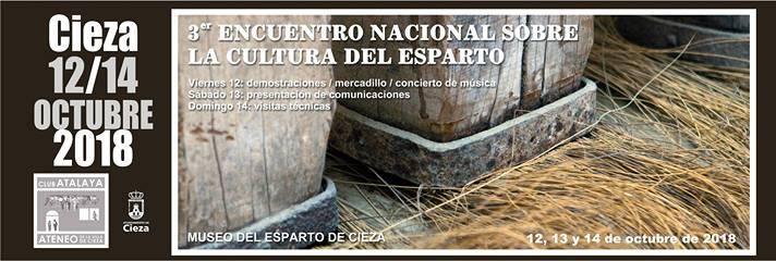 III Encuentro Nacional sobre la Cultura del Esparto