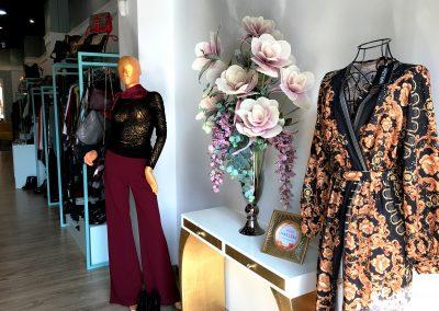 Interior de la tienda Marlem, Moda y Complementos en Cieza.