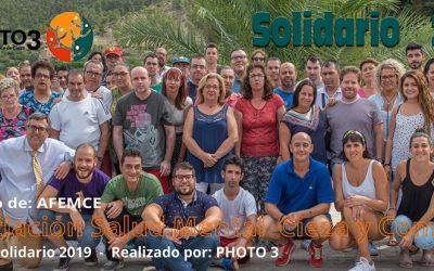 Presentación del 'Calendario Solidario 2019' a beneficio de AFEMCE