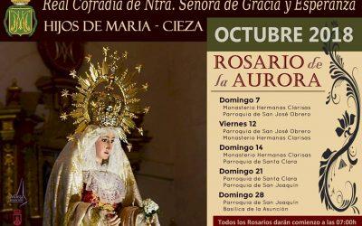 Cuarto 'Rosario de la Aurora' de la Cofradía de Nuestra Señora de Gracia y Esperanza de Cieza