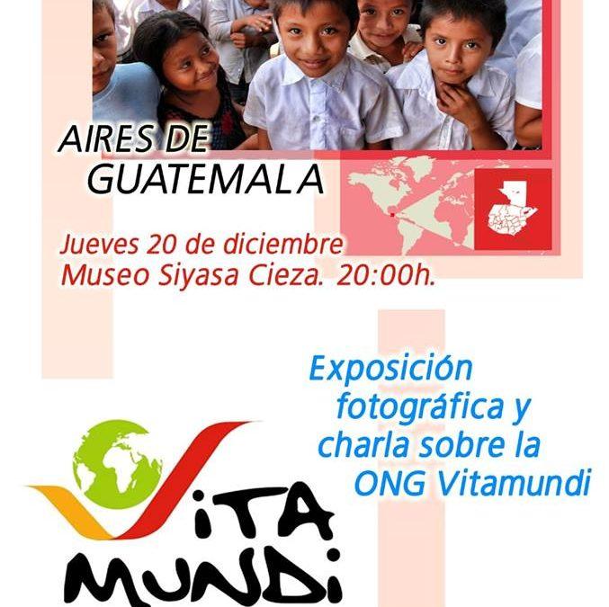 Exposición fotográfica y charla sobre la ONG Vitamundi en el Museo de Siyâsa Cieza