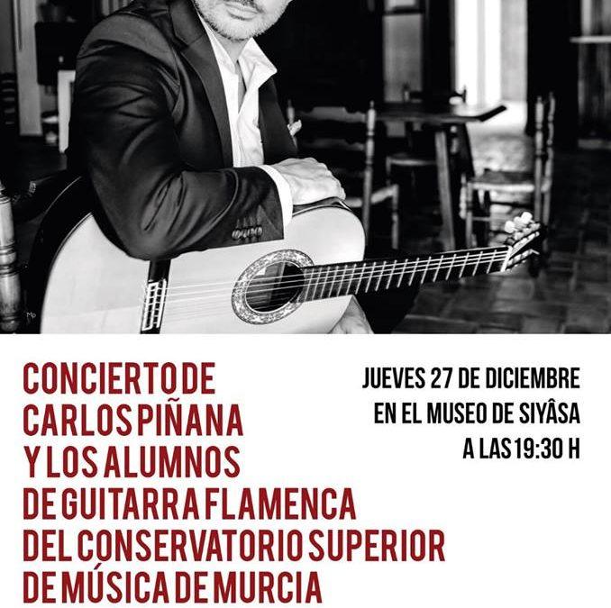 Concierto de Carlos Piñana y alumnos del Conservatorio Superior de Música de la Región de Murcia