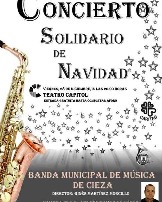 Concierto Solidario de Navidad de la Banda Municipal de Cieza