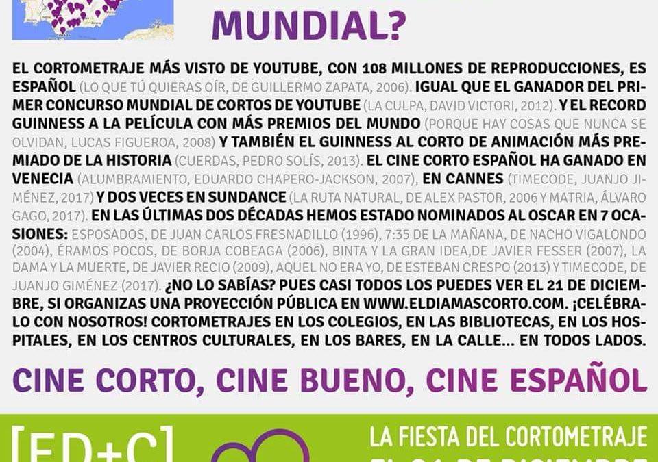 El Cine Club La Linterna Mágika será uno de los espacios de la región colaborador en 'El día más corto'