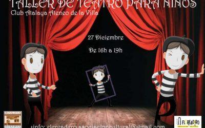 Taller de teatro para niños por El Creadero Teatro Asociación Cultural