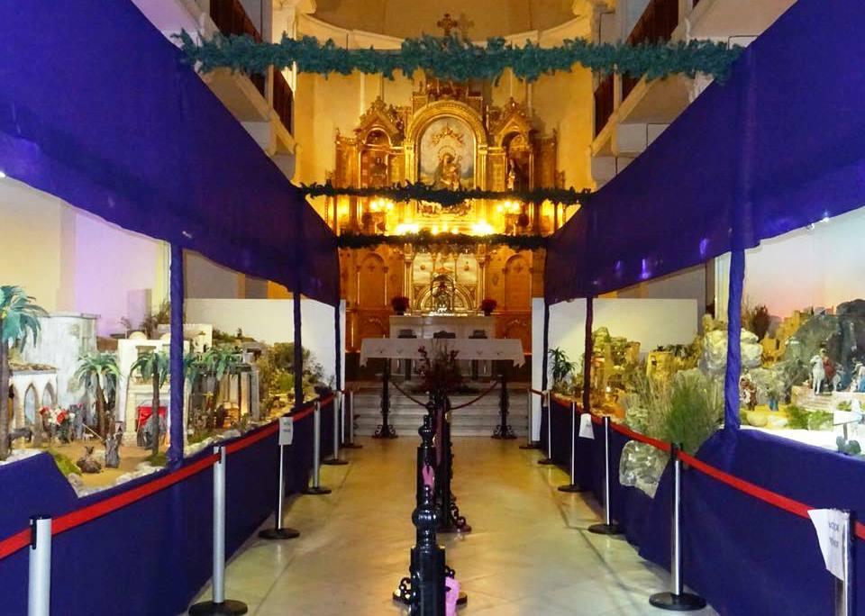 Foto del Belén Monumental de los Dormis de Cieza, foto de la cofradía.