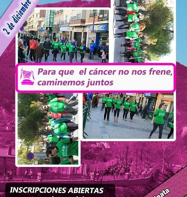 """La Asociación Española Contra el Cáncer (AECC) y La Hermandad Sª María Magdalena organizan la """"II Caminata contra el Cáncer """""""