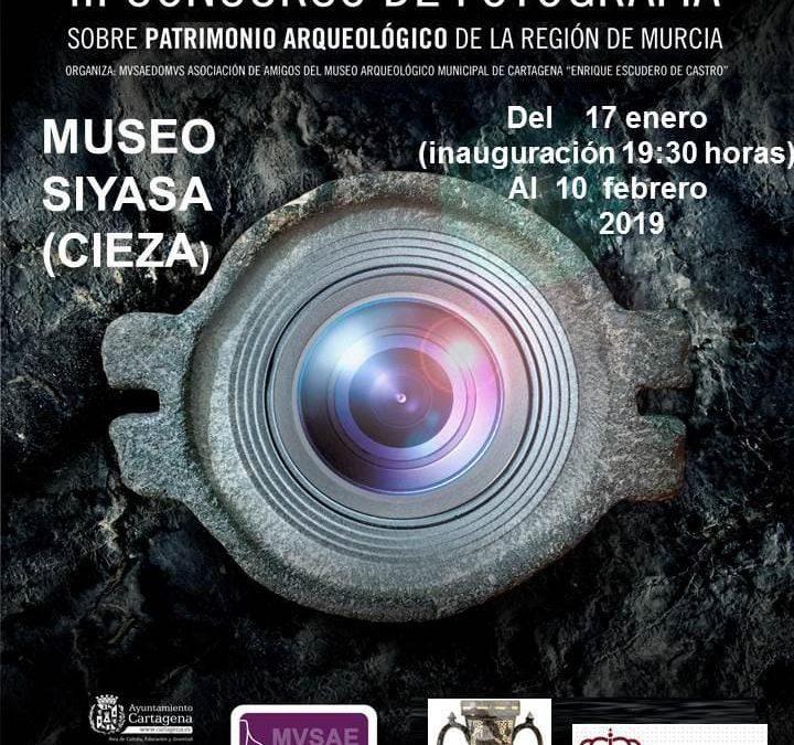 Los trabajos del III Concurso de Fotografía sobre el Patrimonio Arqueológico llegan a Cieza
